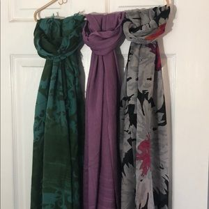 Nordstrom Accessories - 3 scarves